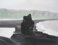 painting Iceland