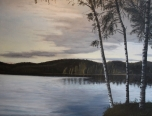 Lake in Sweden, study